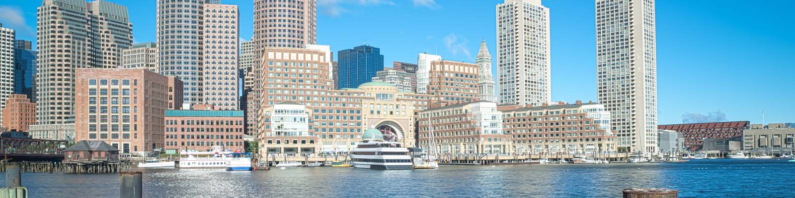 This is a cityscape image of Boston Massachusetts where ASTA-USA provides professional translation services.