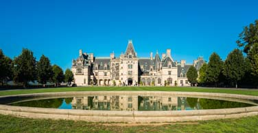 Pictured: The Biltmore Estate in Asheville North Carolina.