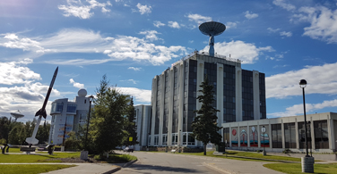 Pictured: One of the University of Alaska buildings.