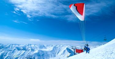 Georgia ski lift