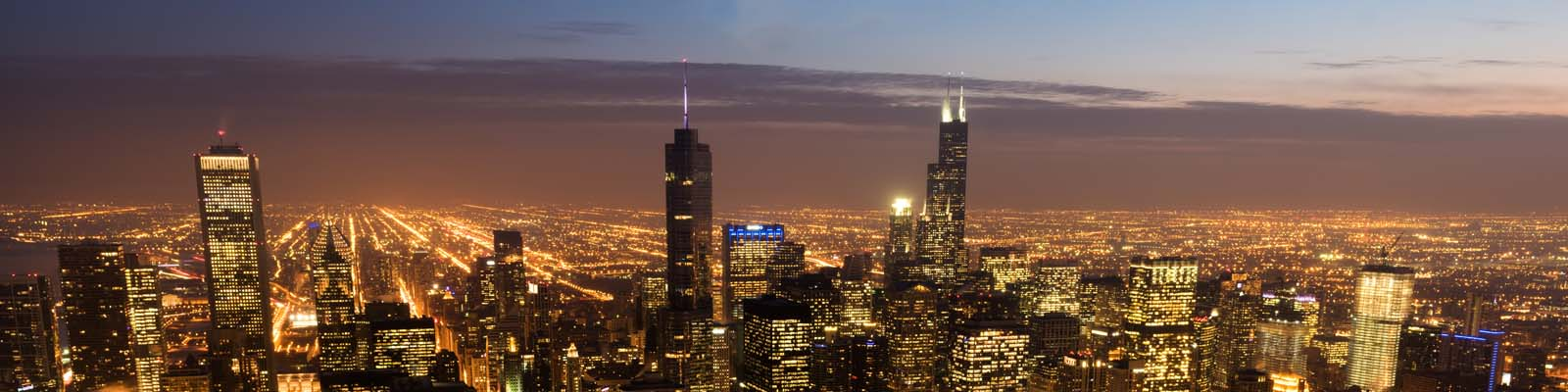Pictured: A cityscape of Chicago, Illinois.