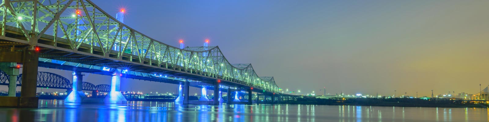 Pictured: The Louisville, Kentucky bridge.