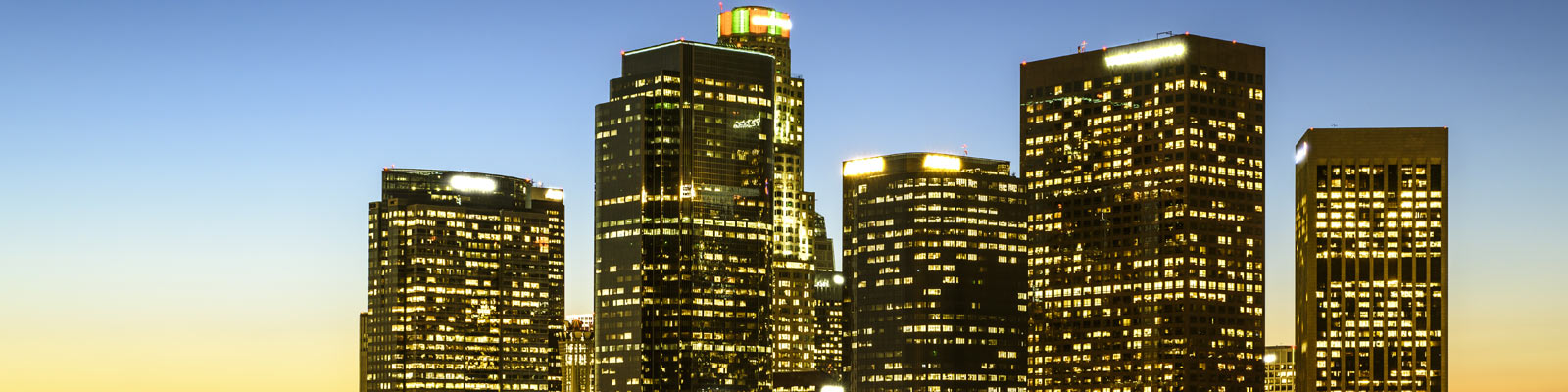 This is a skyline image of downtown Los Angeles where ASTA-USA offers professional translation services.