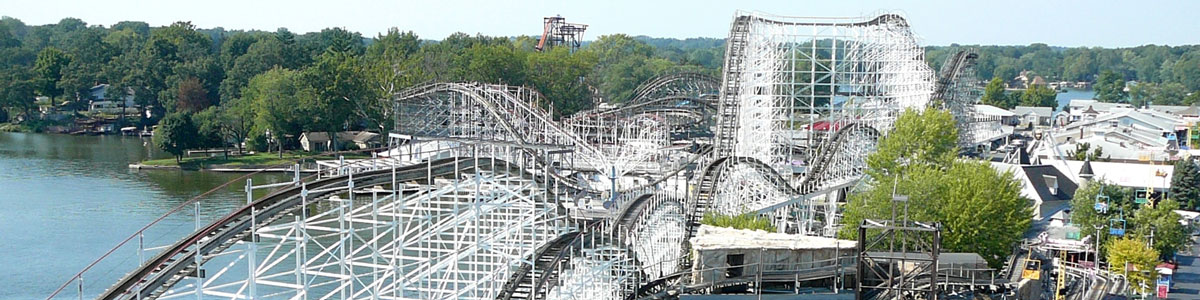 This is an image of a roller coaster in Monticello. ASTA-USA provides professional translation services in this city.