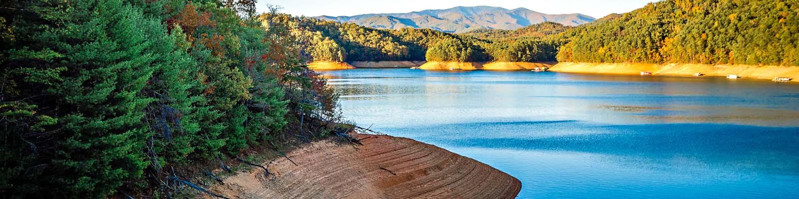 Pictured: A lake in North Carolina.