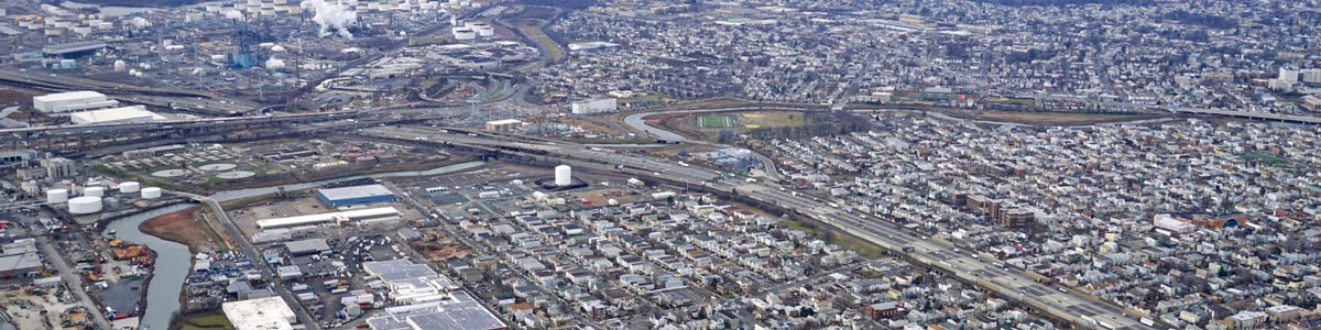 This is an aerial view of Newark where ASTA-USA provides professional translation services.