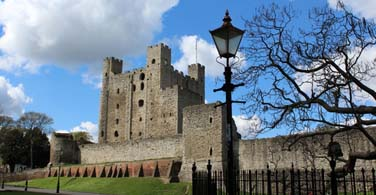 Pictured: Rochester castle in Rochester Minnesota.