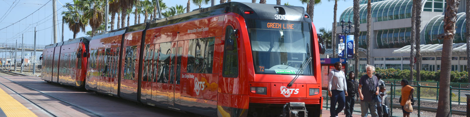 This is an image of the tram in San Diego. ASTA-USA offer professional translation services in this city.