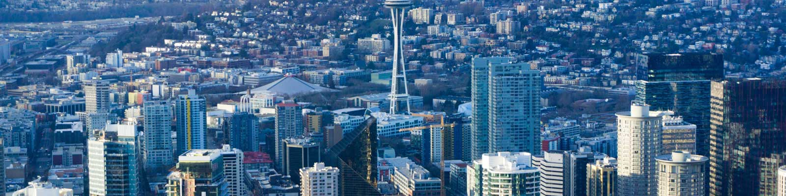 This is a view of downtown Seattle where ASTA-USA offers professional translation services.