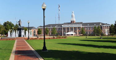 Pictured: Troy Campus building in Troy Alabama.