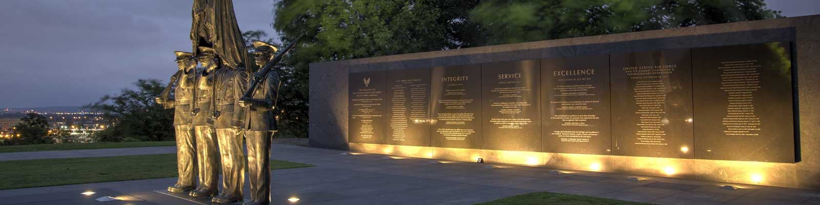 Pictured: Honor Guard Memorial in Arlington, Virginia.
