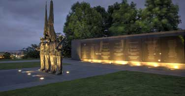 Pictured: Honor Guard Memorial in Arlington, Virginia.