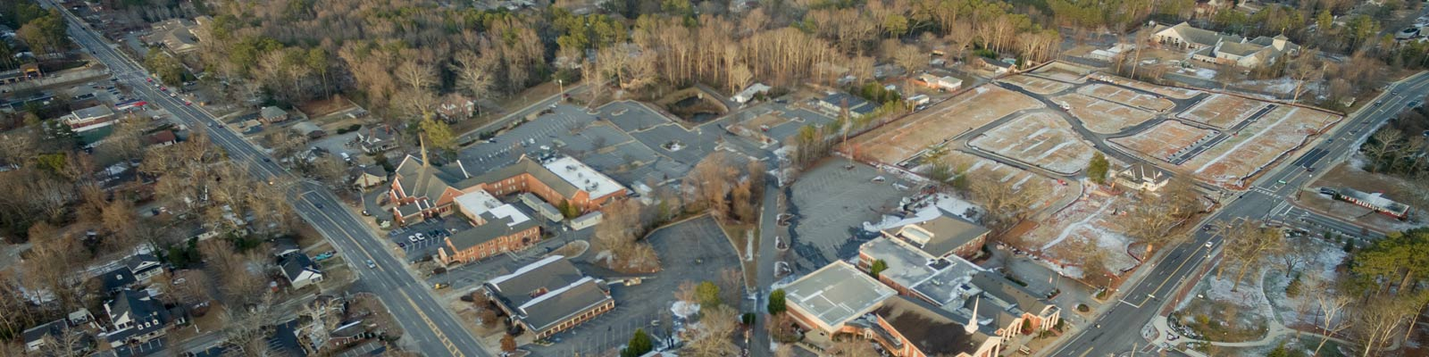 This is an aerial view of Alpharetta where ASTA-USA provides professional translation services.