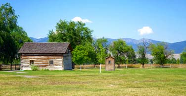 Pictured: A farm in Missoula Montana.