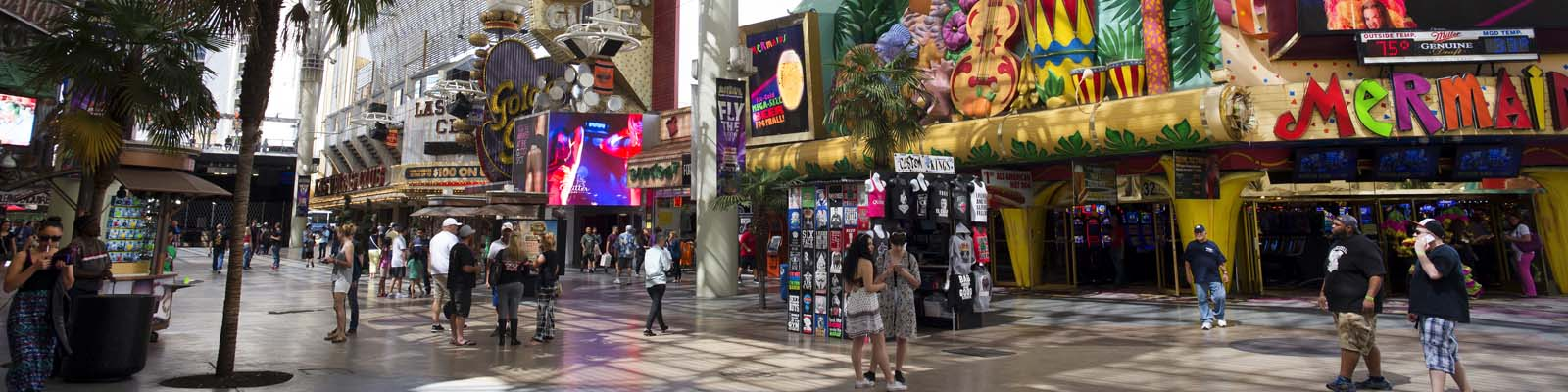 Pictured: Bazaar marketplace in Las Vegas, Nevada.