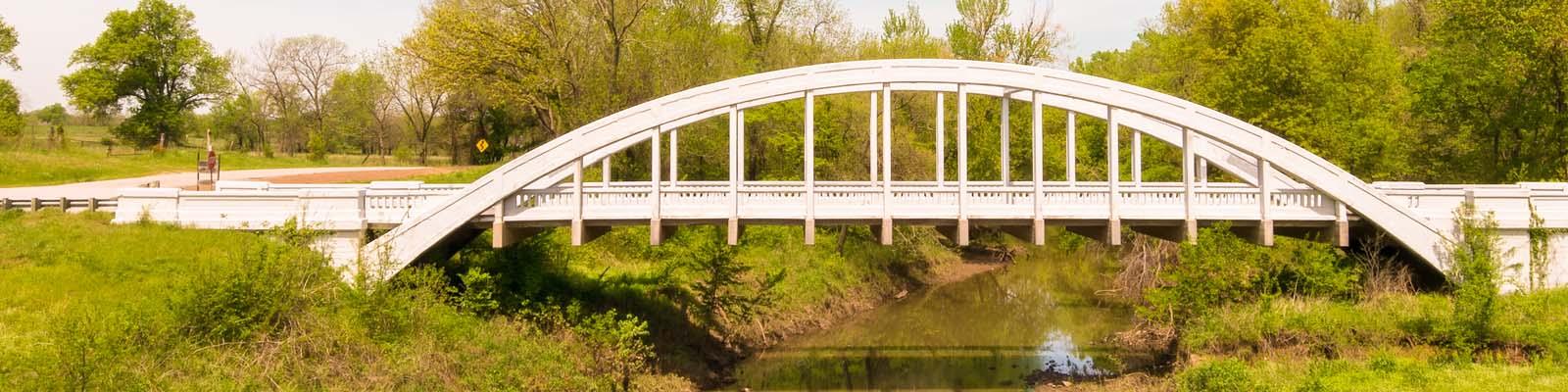 Pictured: A bridge in Oklahoma.