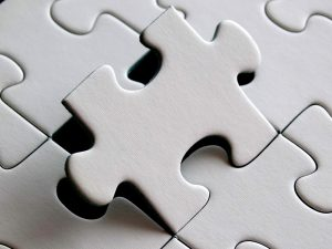 Pictured: A jigsaw puzzle representing Exact Translation Services.