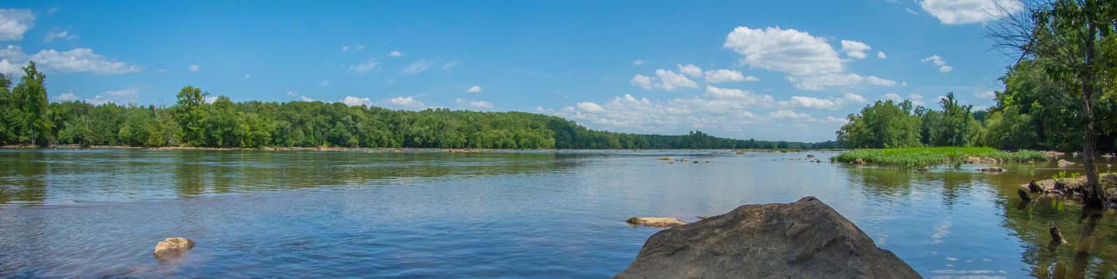 Pictured: A lake in South Carolina.