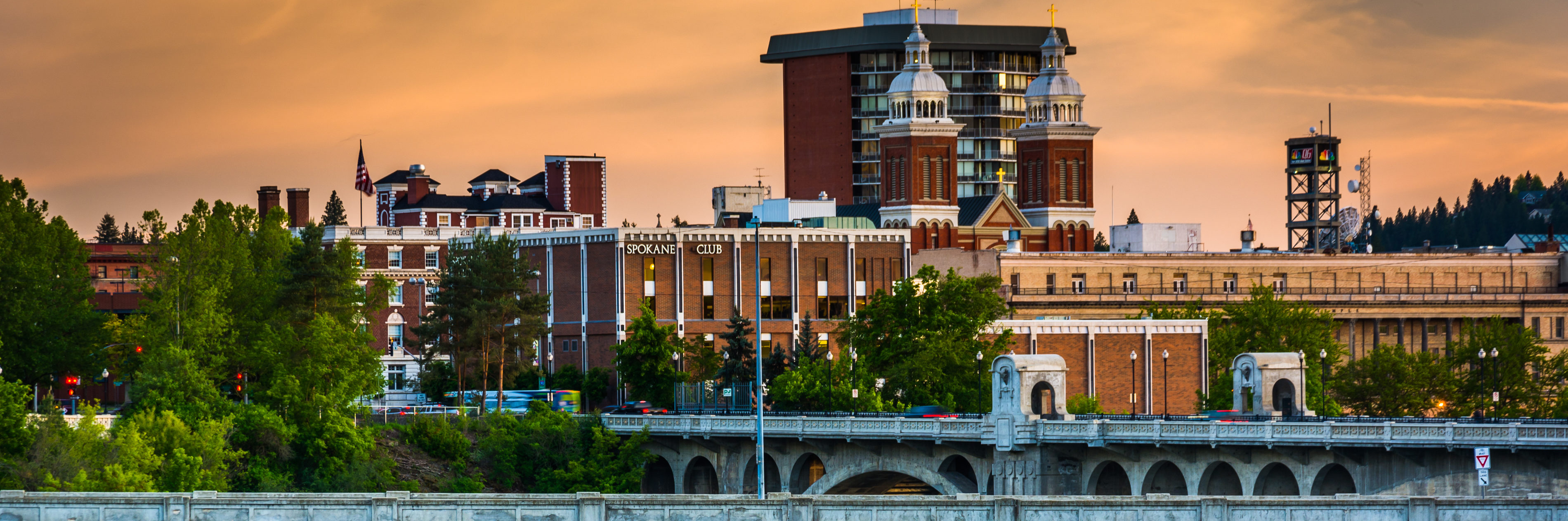 This is an image of downtown Spokane where ASTA-USA provides professional translation services.