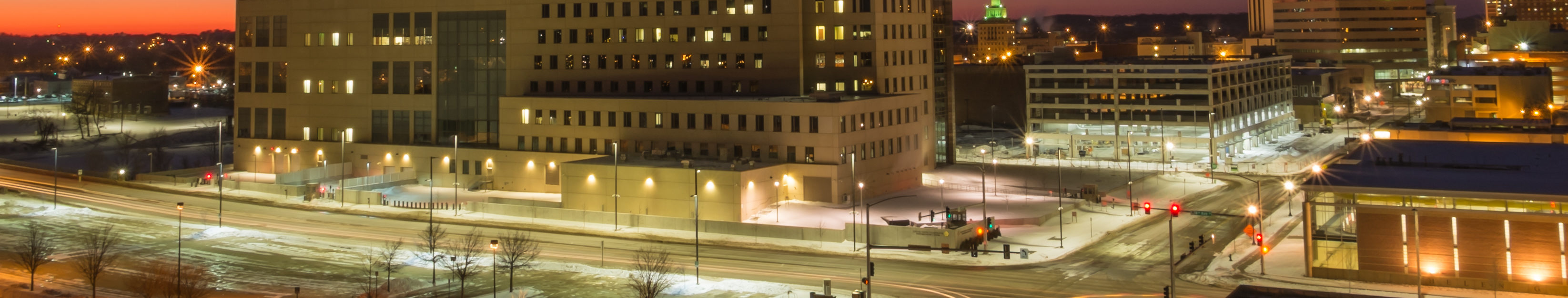This is an image of downtown Cedar Rapids Iowa where ASTA-USA provides professional translation services.