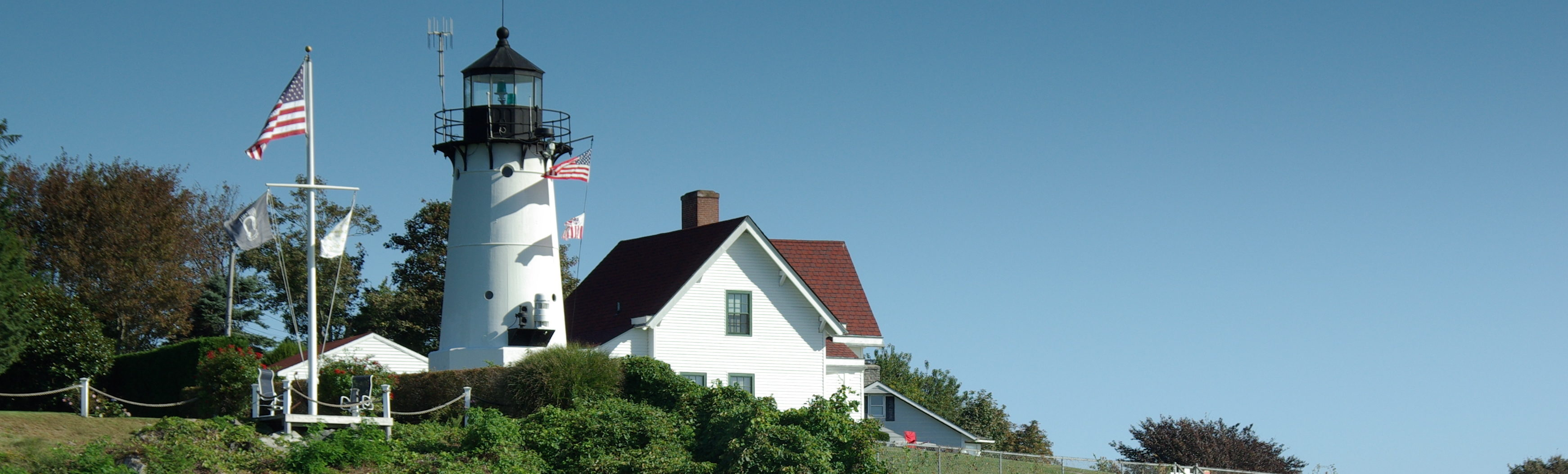 This is an image of a lighthouse in Warwick. ASTA-USA provides professional translation services in this city.