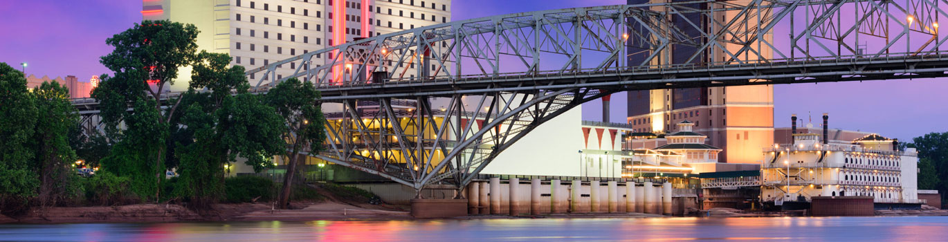 This is an image of downtown Shreveport where ASTA-USA provides professional translation services.