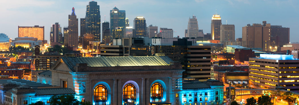 This is a cityscape image in Kansas City Missouri where ASTA-USA provides professional translation services.