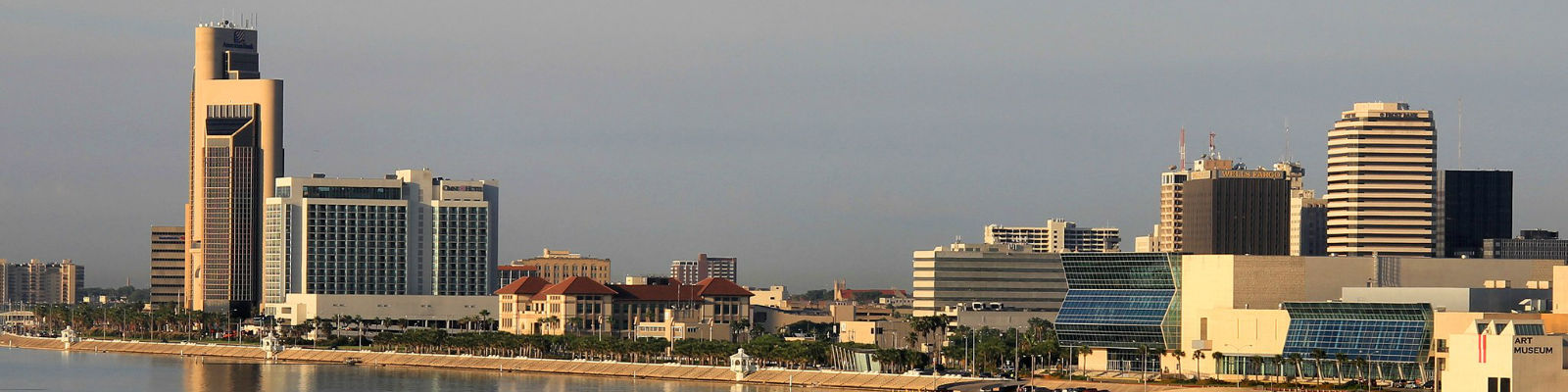 This is a cityscape image in Corpus Christi Texas. ASTA-USA provides professional translation services in this city.