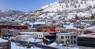 Pictured: Houses in Park City, Utah.